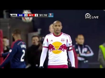 MLS-纽约红牛客场战平无缘总决赛 疑似亨利告别赛