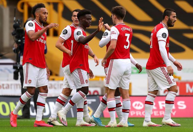 英超-拉卡泽特进球 18岁新星破门 阿森纳2-0连胜