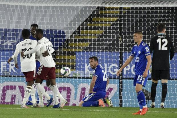 联赛杯-佩佩中柱造乌龙 阿森纳2-0胜莱斯特城晋级
