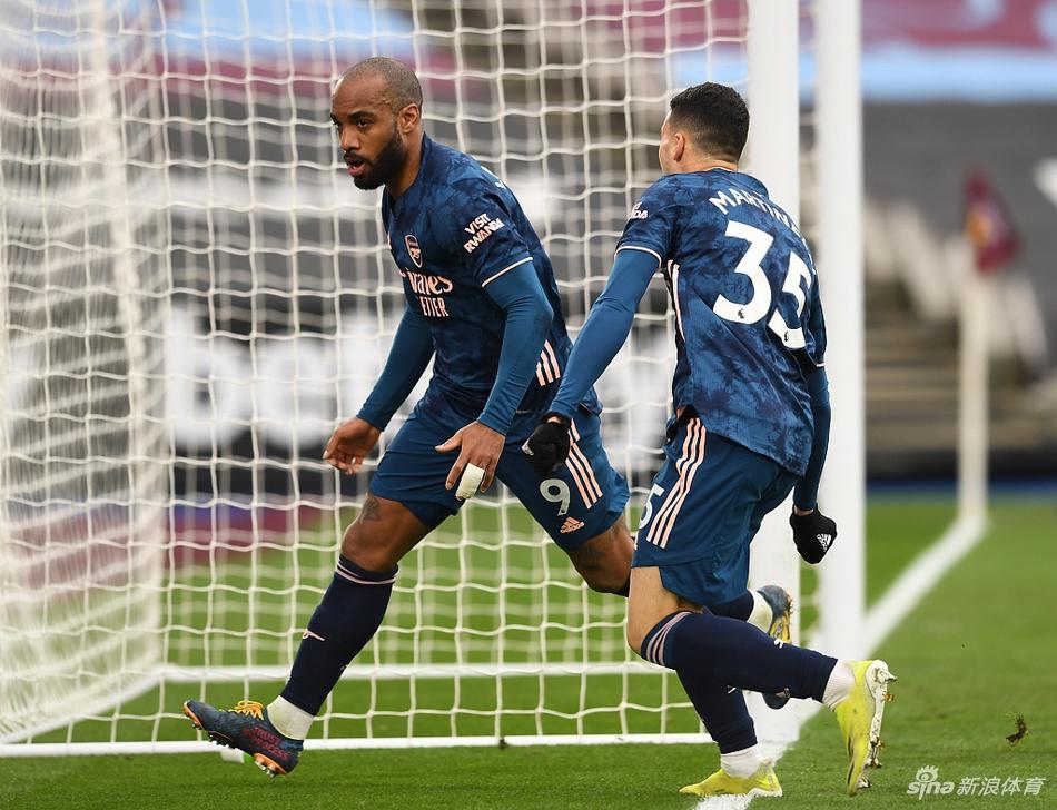 英超-三球落后拉卡泽特救主 阿森纳客场3-3平西汉姆